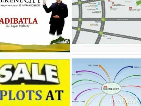 Hyderabad Sagar Road at ADIBATLA JB SERENE CITY Call 9000157574