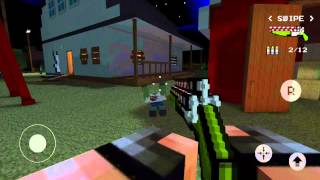 Pixel gun 3D тайна фермы.