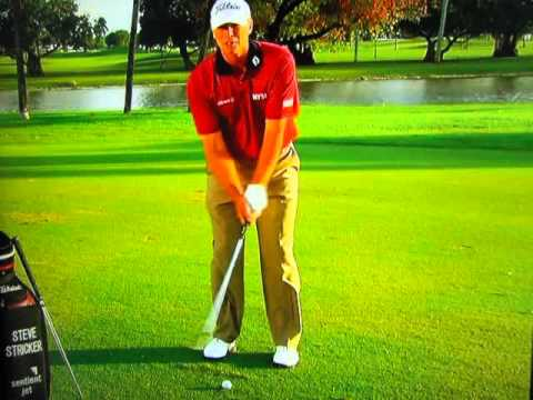 Steve Stricker – Chipping & Pitching Instruction