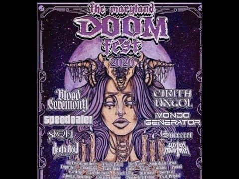 'Maryland Doom Fest' 2020 Lineup has been released ...!