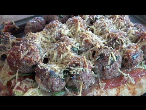 MEATBALL PIZZA SUBS  Nickos Kitchen  YouTube