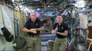 Space Station Crew Talks with Kentucky Students, Officials