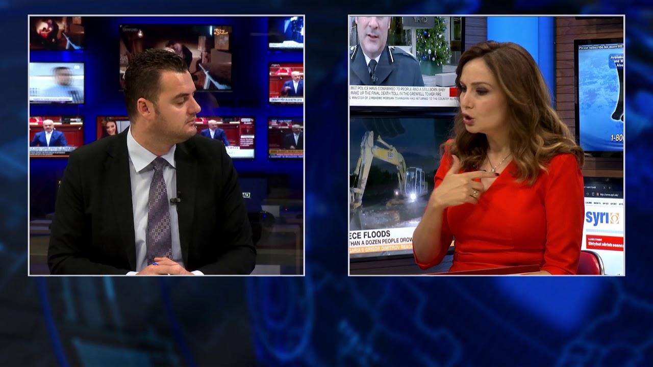 SYRI NEWS Intervista, I ftuar Jorida Tabaku