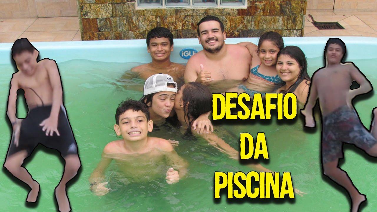Desafio Da Piscina 02 Youtube