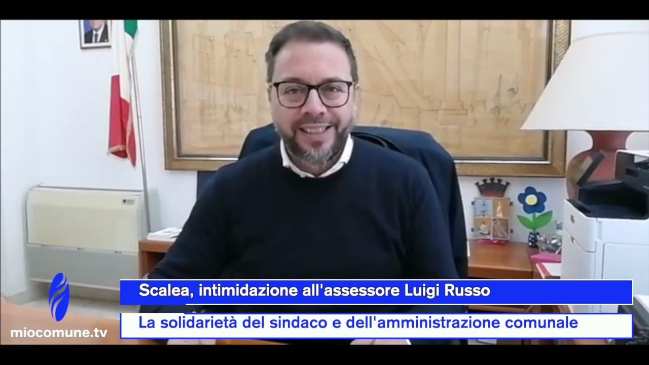 Scalea, intimidazione all'assessore Russo: la diretta del sindaco Perrotta - VIDEO