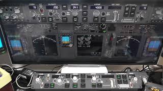 XPlane11 X737 with CPFlight MCP737 Pro by bokukeisuke