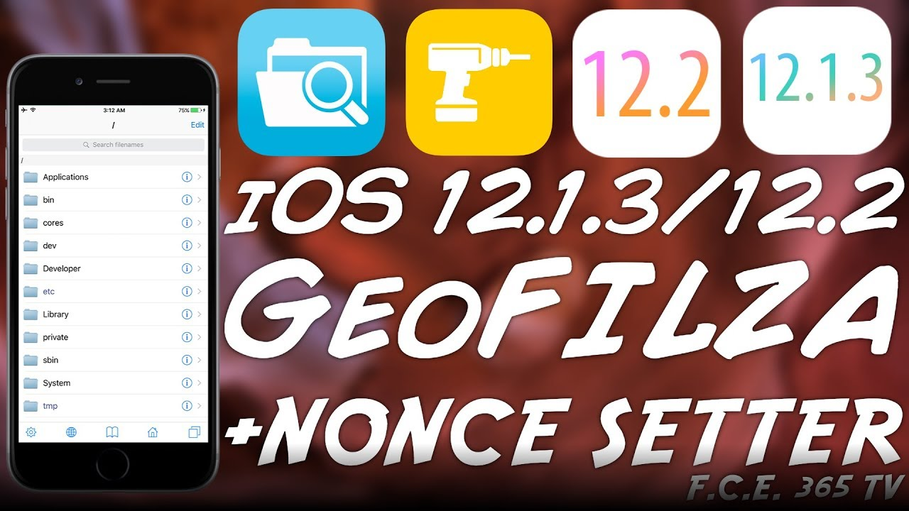 iOS 12 2 / 12 1 4 / 12 1 3 FILZA No Jailbreak And NonceSetter For Downgrade  RELEASED!