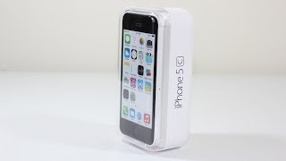 iPhone 5c Unboxing & First Look (White 16GB)