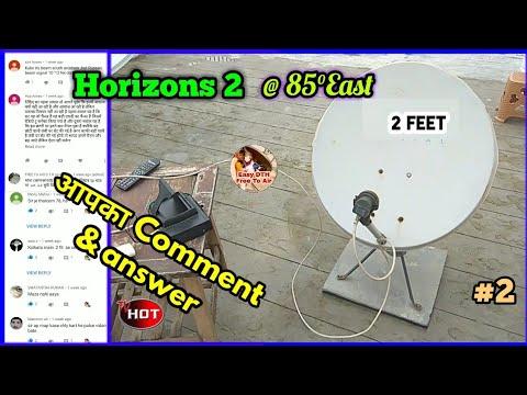 Horizons 2 Russian Satellite Traking on 2 feet dish (South East Asia Beam).