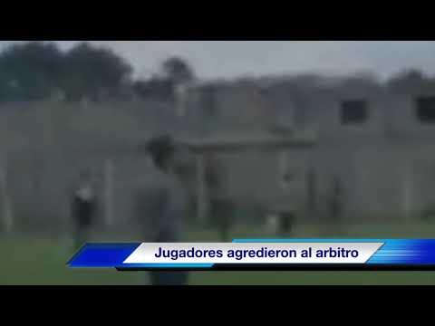 Jugadores de la Liga El Volcán, golpean a árbitro y lo mandan al hospital