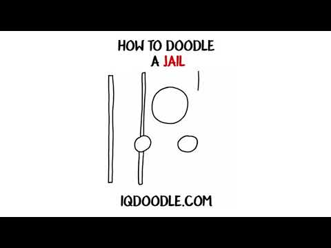 How to Draw a Jail (drawing skills)