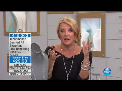 HSN | Sevilla Silver with Technibond Jewelry 06.12.2017 - 09 PM