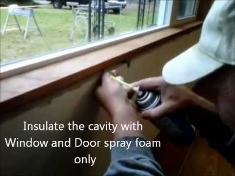 Installing Window Extension Jambs
