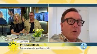 """Ny prins född: """"Det börjar bli fullt på slottet"""" - Nyhetsmorgon (TV4)"""