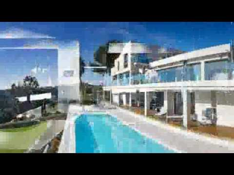 Contemporary House Design See Large Ocean - hillside ocean ...