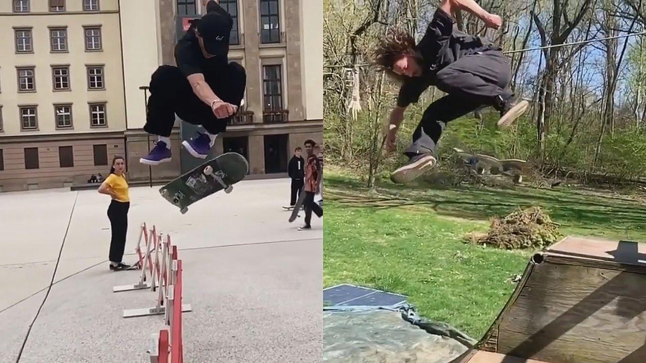 Beautiful Tricks (Skateboarding Fun, Late Tricks, Wins)