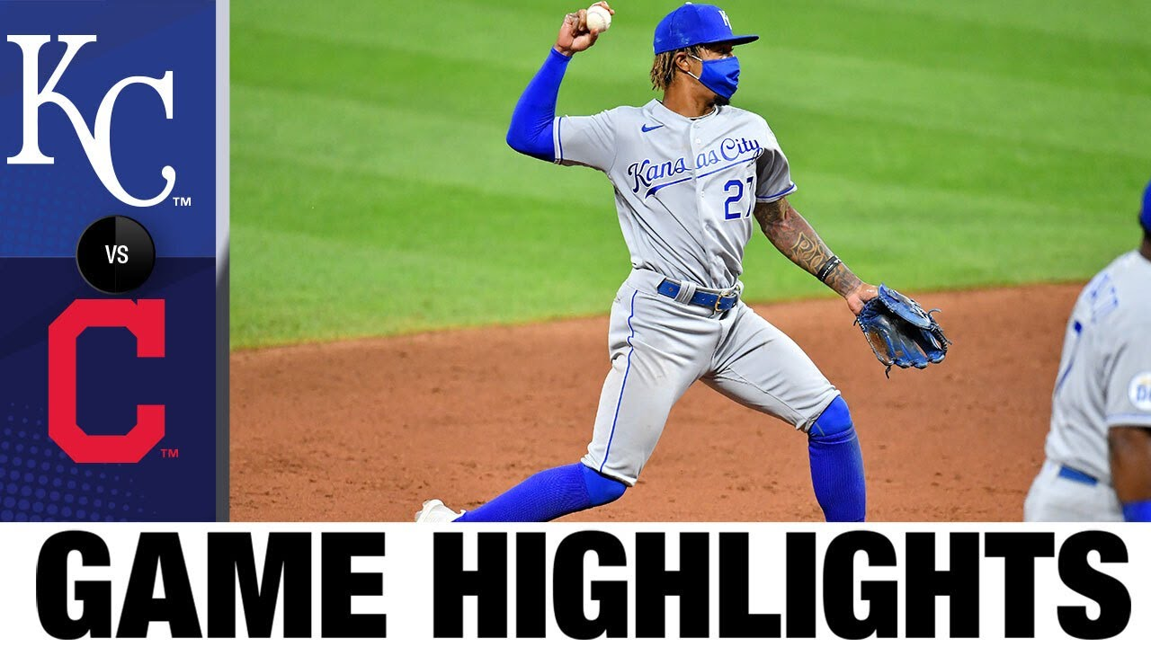Brady Singer, offense lift Royals in 10 | Royals-Indians Highlights 7/25/20
