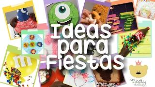 Ideas para Fiestas infantiles | Manualidades|Craft Tortas 工艺品 Party Disney