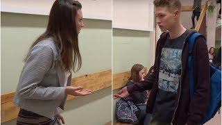 Chłopak postanowił zerwać z dziewczyną z powodu jej kompleksów [Szkoła odc. 404]