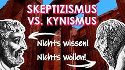 Einführung in die Philosophie #7.5 Skeptiker und Skeptizismus | Kyniker und Kynismus