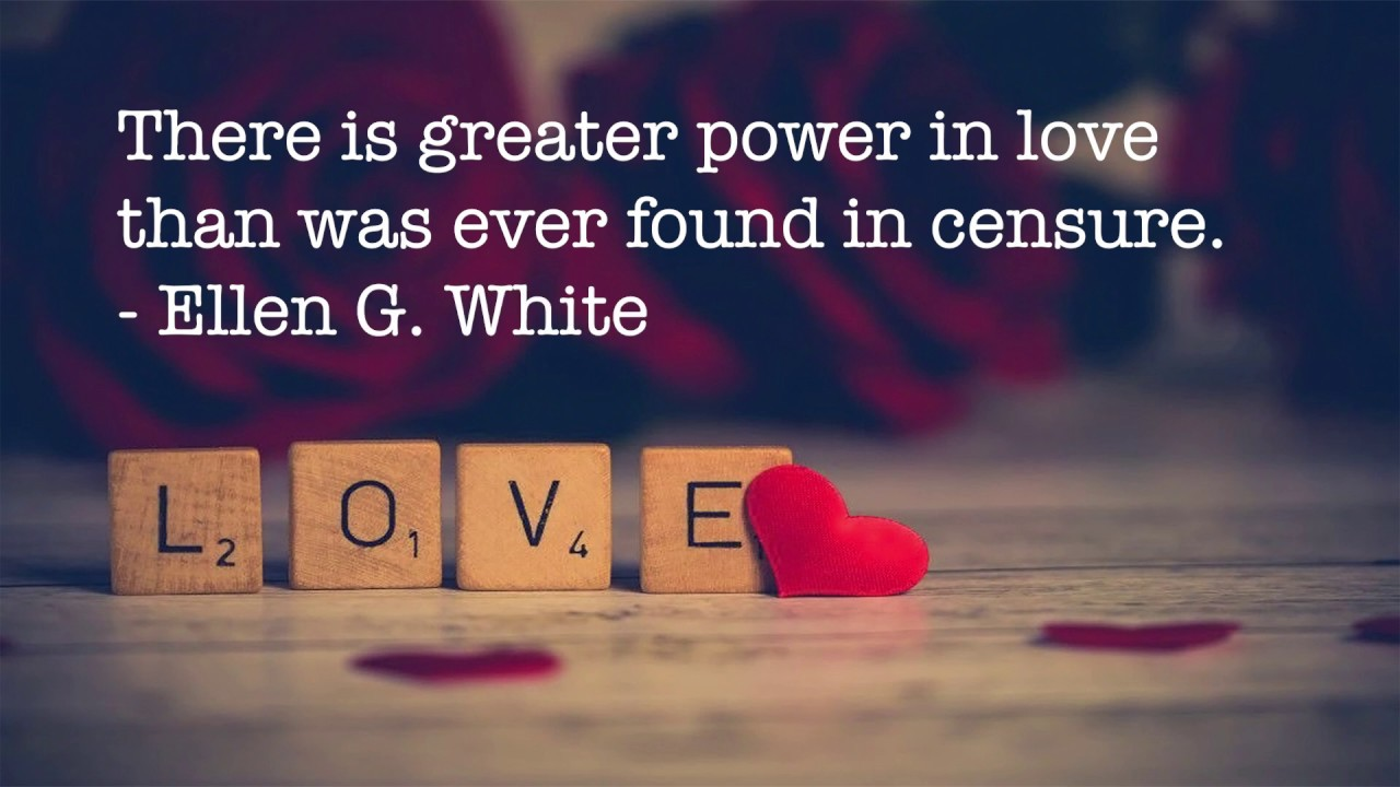 Greater Power in Love then in Censure