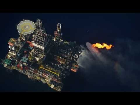 Drill Stem Test at Cyprus Block 12.  HD1080p