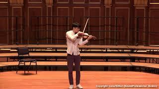 Paganini Caprice No. 3, Op. 1~ In Mo Yang (LIVE)