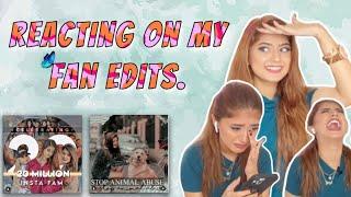 Reacting on my Fans Edit.🤩 | Arishfakhan