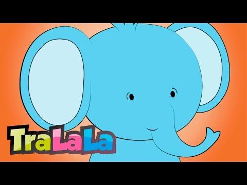 Un elefant se legăna - Cântece pentru copii | TraLaLa