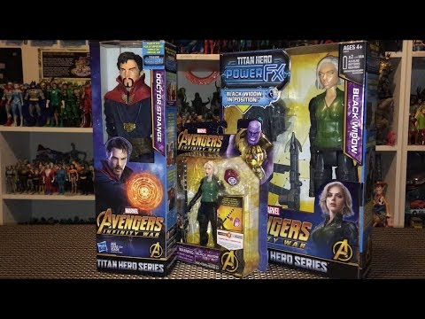 Marvel Infinity War Titan Hero Series Doctor Strange with Titan Hero Power FX
