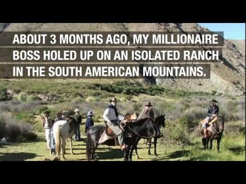 Millionaire Holes Up in Mountain Ranch (disturbing) AL