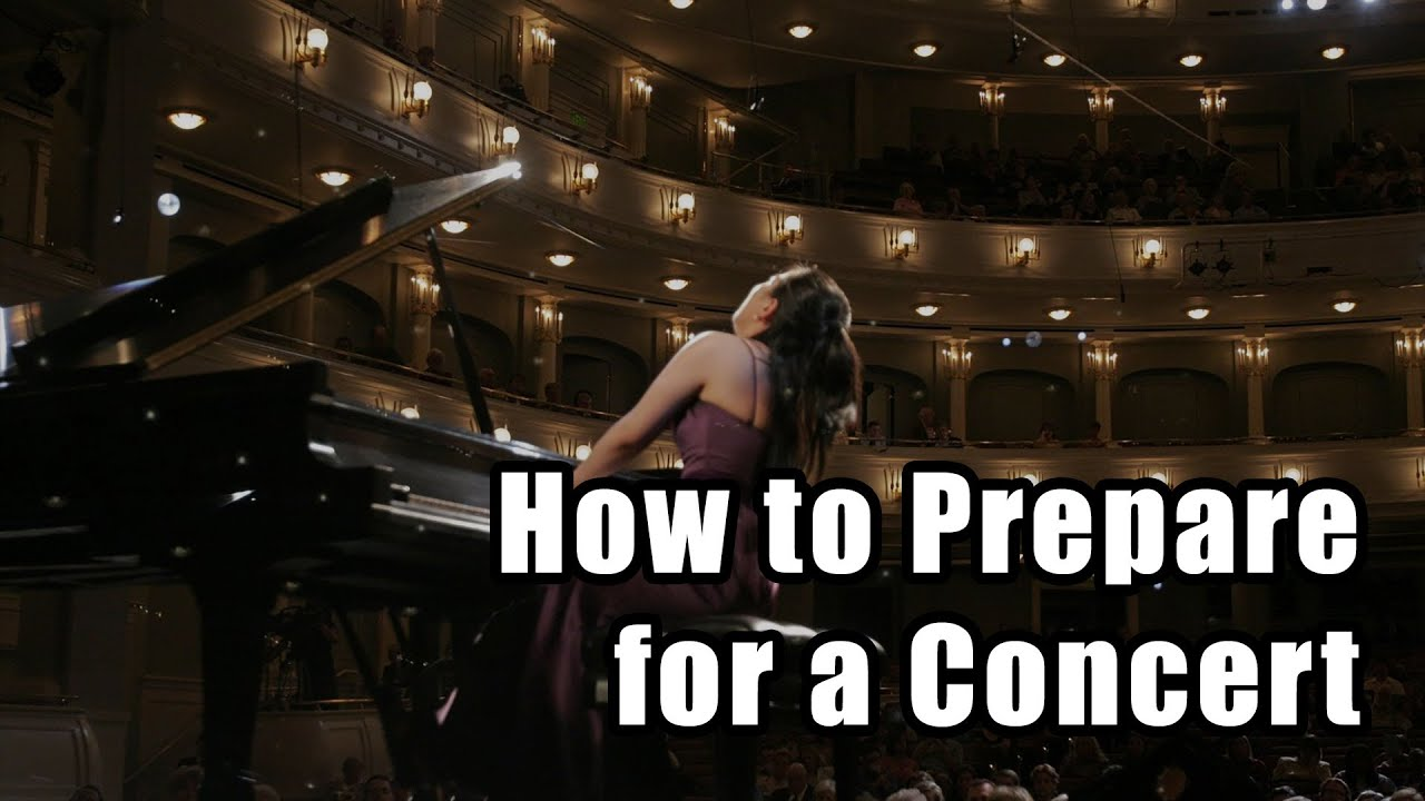 How to Prepare for a Concert