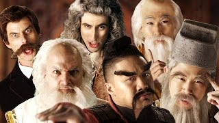 Eastern Philosophers vs Western Philosophers. Epic Rap Battles of History