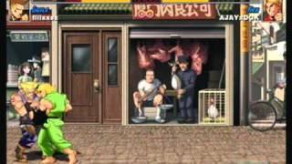 AJAYxDGK Vs Fliixxsz SuperStreetFighter2THD Xbox 360