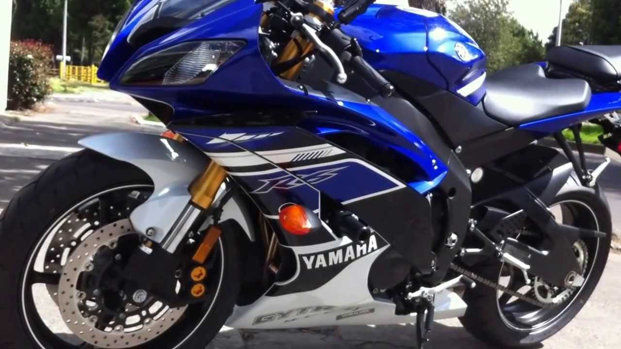 Yamaha Yzf R6 Team Blue