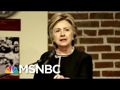 Hillary Clinton's Back In The Headlines With New Book What Happened | AM Joy | MSNBC
