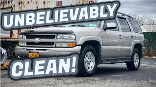 DIY Paint Correcting a 200,000 Mile Truck | Detailing the Tahoe