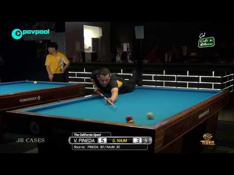 #4 - Gilbert NAJM vs Vicke PINEDA / The 2018 California Open!