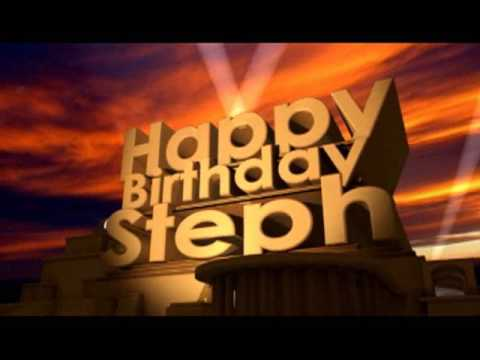 Happy Birthday Steph Youtube