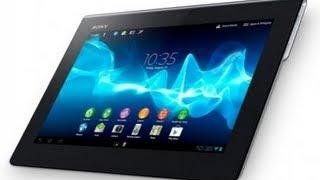 Sony Xperia Tablet S. Открытая книга