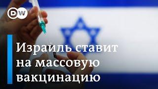 Борьба с коронавирусом Израиль сделал ставку на массовую вакцинацию
