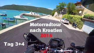 Motorradtour nach Kroatien 2016 | Mangartstraße in Slowenien und Erkundung Istriens | Tag 3+4