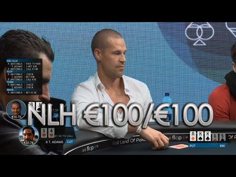 TOP Pots Cash Game DAY2 €100/€100 Antonius, Mizrachi, Cates, Adams