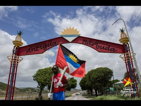 Queens Baton Relay 2017 (Antigua)