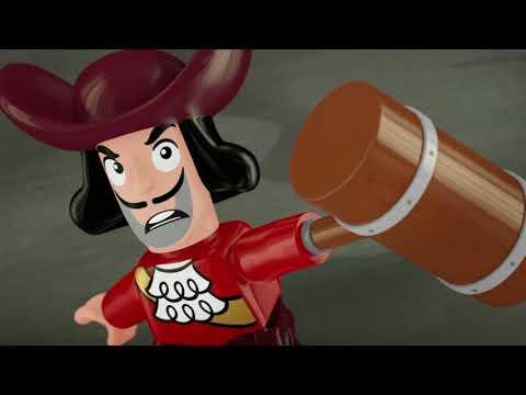 LEGO-Disney Джейк и ПИРАТСКИЕ СОКРОВИЩА - серия 5 - Веселье в убежище | мультфильм Лего про пиратов