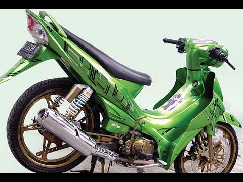 Motor Trend Modifikasi   Video Modifikasi Motor Yamaha Jupiter Z Air Brush Terbaru Part 2