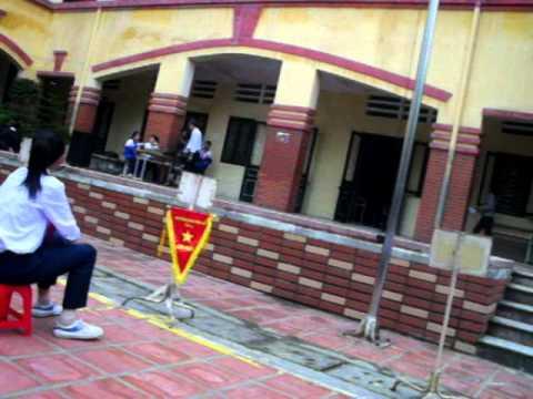 [10/10/2011] Sinh hoạt dưới cờ (1) - 9E THCS Vân Hồ