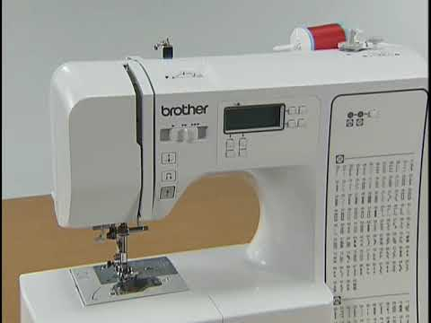 HC40 Instructional Video En Brother Canada YouTube Simple Brother Computerized Sewing And Quilting Machine Hc7140