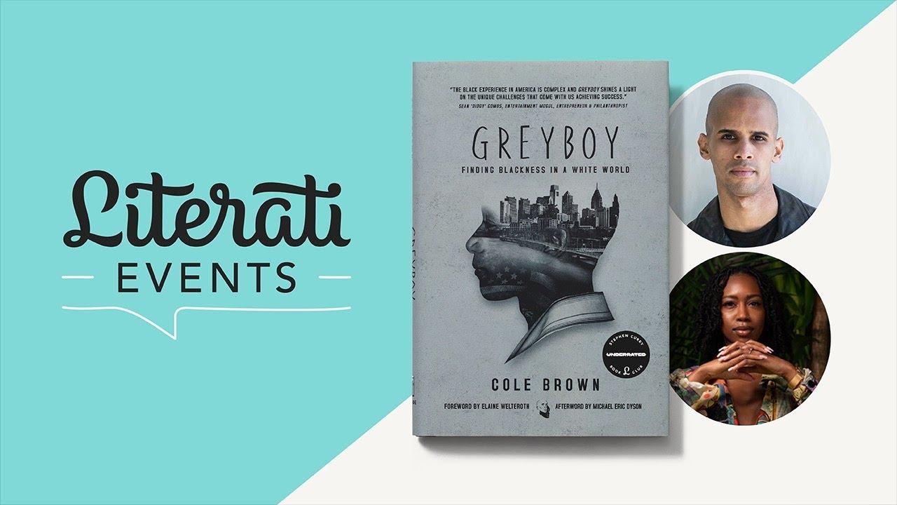 Literati Book Club   Greyboy: ATA w/ Cole Brown and Lynae Bogues