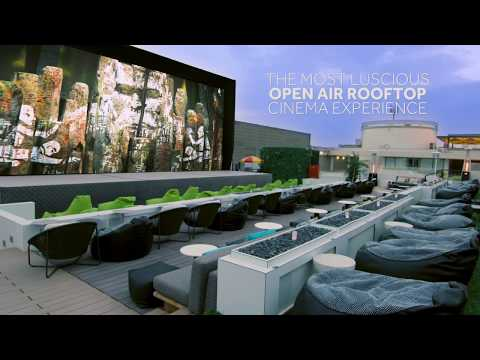 VOX Outdoor At Rooftop Galleria Mall | Movies Under The Stars